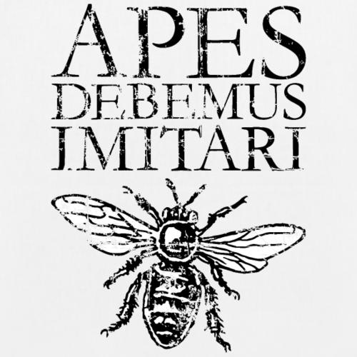 APES DEBEMUS IMITARI Beekeeper Quote Design