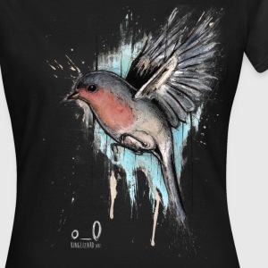 Black Robin T-Shirts - Women's T-Shirt