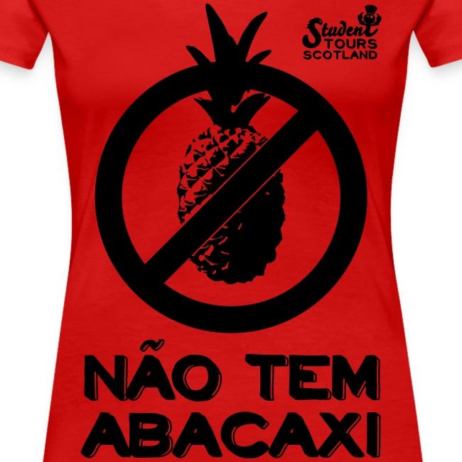 Brazil (Abacaxi) Black Print