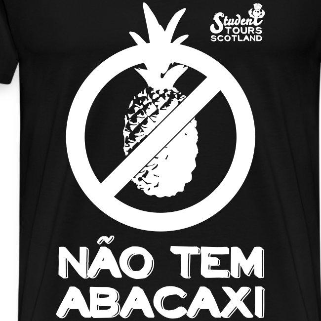 Brazil (Abacaxi) White Print