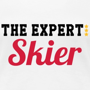 The Expert : Skier T-Shirts - Women's Premium T-Shirt