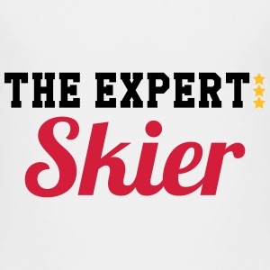 The Expert : Skier Shirts - Kinderen Premium T-shirt