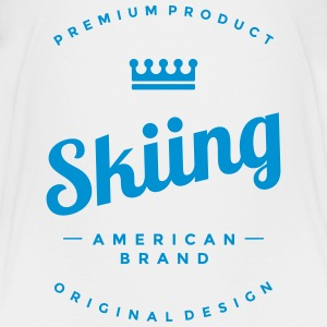 Skiing T-shirts - Teenager premium T-shirt
