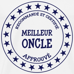 Meilleur Oncle Tee shirts - T-shirt Premium Homme