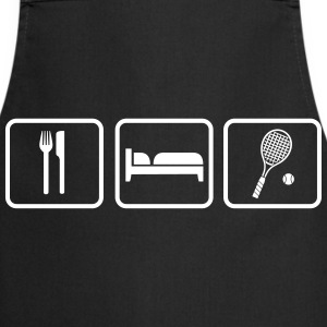 Eat Sleep Tennis  Aprons - Cooking Apron