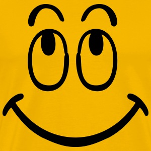 smilie smiley T-shirts - Mannen Premium T-shirt
