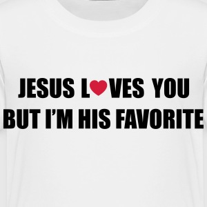 Jesus loves you but I'm his favorite Shirts - Kids' Premium T-Shirt