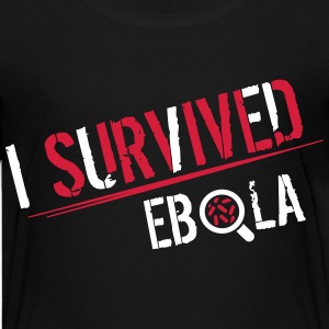I survived Ebola Shirts - Teenager Premium T-shirt