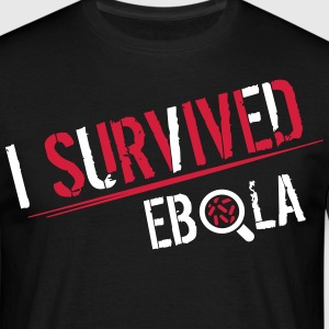 I survived Ebola T-skjorter - T-skjorte for menn