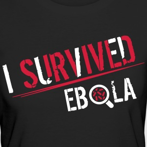 I survived Ebola T-Shirts - Frauen Bio-T-Shirt