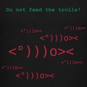 Do not feed the Trolls T-Shirts - Kinder Premium T-Shirt