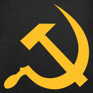 hammer and sickle / soviet union / russia Tops - Women's Premium Tank Top