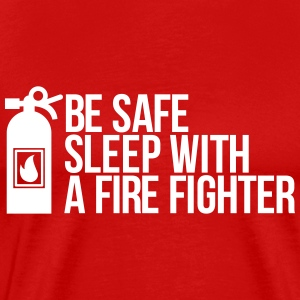 fire fighter T-shirts - Mannen Premium T-shirt