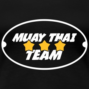 Muay Thai Team T-shirts - Vrouwen Premium T-shirt