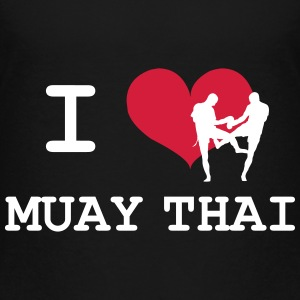 I Love Muay Thai Skjorter - Premium T-skjorte for barn