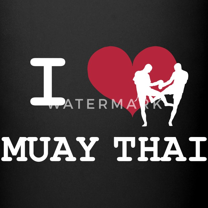 I Love Muay Thai Mugs & Drinkware - Full Colour Mug