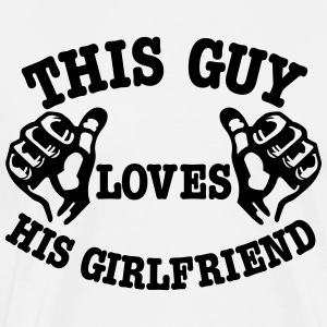 girlfriend T-shirts - Mannen Premium T-shirt