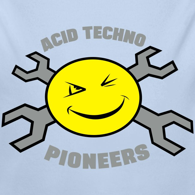 Acid Techno Pioneers Collection Baby Long Sleeve One Piece