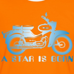 Simson Star is Born  - Männer Kontrast-T-Shirt
