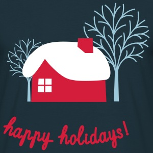 Happy Holidays T-Shirts - Männer T-Shirt