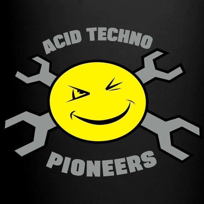 Acid Techno Pioneers Full Colour Mug LOGO BOTH SIDES