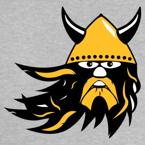 viking warrior with beard and helmet Shirts - Baby T-Shirt