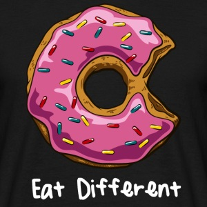 Schwarz Eat different-final T-Shirts - Männer T-Shirt