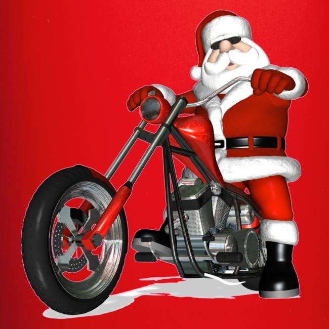 Biker Christmas.Biker Christmas Mug Full Colour Mug