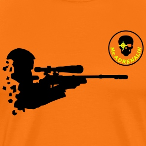 Mr. adrenalin shooter T-Shirts - Männer Premium T-Shirt