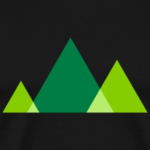 Triangle Style T-Shirts - Men's Premium T-Shirt