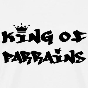 King of Parrain Tee shirts - T-shirt Premium Homme