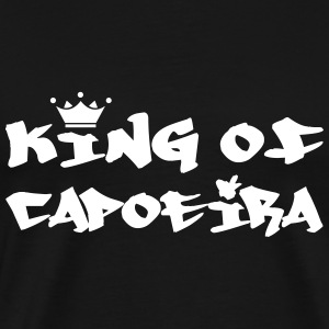 King of Capoeira T-skjorter - Premium T-skjorte for menn