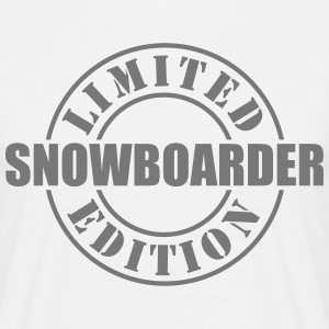 Limited Edition Snowboarder - T-shirt Homme