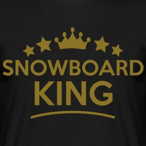 Snowboard King Stars - T-shirt Homme