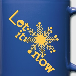 Let it snow holidays Full Colour Mug - Full Colour Mug