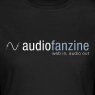 Motif ~ T-shirt Femme col rond AF logo noir