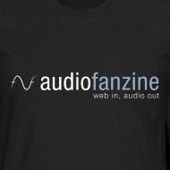 Motif ~ T-shirt manches longues homme AF logo noir