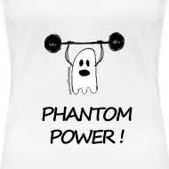 Motif ~ Phantom Power! T-shirt blanc Femme Premium