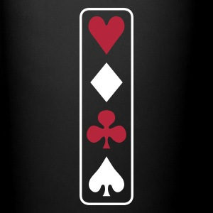 poker vertical Tazze & Accessori - Tazza monocolore