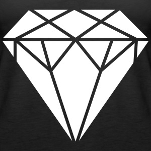 Diamant Tops - Frauen Premium Tank Top