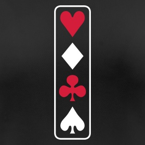 poker vertical Camisetas - Camiseta mujer transpirable