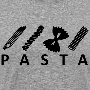 Types of pasta Pasta T-Shirts - Men's Premium T-Shirt