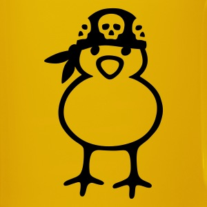 Pirate Chick - Ensfarvet krus