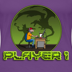 gamer_102014_f_dragon T-Shirts - Frauen Premium T-Shirt
