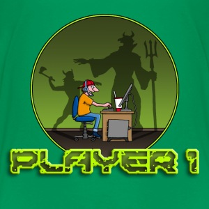 gamer_102014_f_devil T-Shirts - Teenager Premium T-Shirt