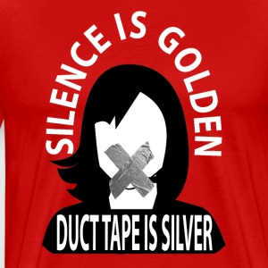 Duct Tape Silence - Men's Premium T-Shirt