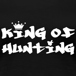 King of Hunting T-skjorter - Premium T-skjorte for kvinner