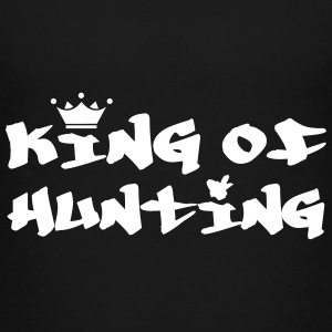 King of Hunting T-shirts - Premium-T-shirt tonåring