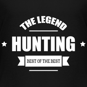 The Legend : Hunting T-shirts - Premium-T-shirt tonåring