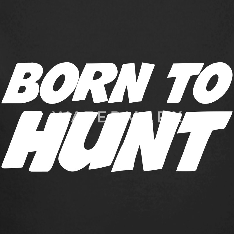 Born to Hunt Gensere - Økologisk langermet baby-body